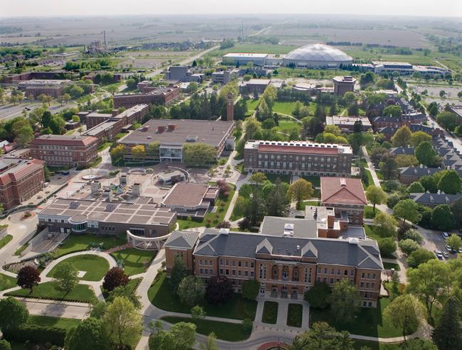 New campus aerial