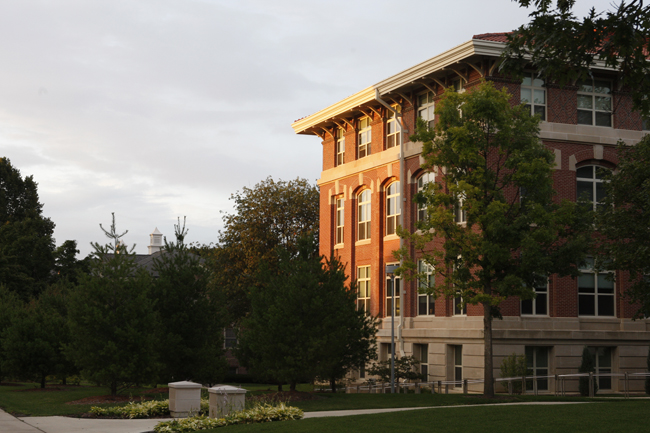 Begeman Hall Physics Building