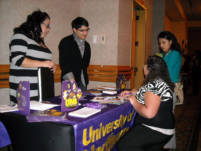 multicultural recruitment table
